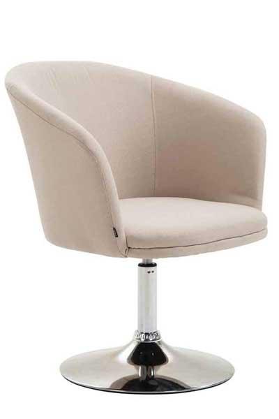 Fauteuil lounge assise en tissu